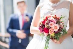 Ramalhete bonito do casamento Fotos de Stock