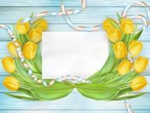 Ramalhete bonito dos tulips Eps 10 Imagem de Stock Royalty Free