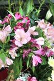 Ramalhete bonito grande das flores Foto de Stock