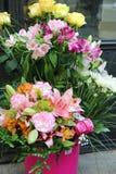 Ramalhete bonito grande das flores Imagens de Stock