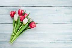 Ramalhete colorido das tulipas Fotografia de Stock
