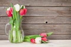 Ramalhete colorido das tulipas Foto de Stock