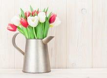 Ramalhete colorido das tulipas Fotografia de Stock Royalty Free