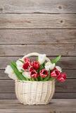 Ramalhete colorido das tulipas Imagem de Stock