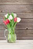 Ramalhete colorido das tulipas Imagem de Stock Royalty Free