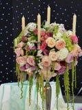 Ramalhete com velas Foto de Stock