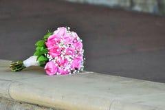 Ramalhete cor-de-rosa Fotos de Stock Royalty Free