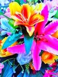 Ramalhete da flor artificial imagem de stock royalty free
