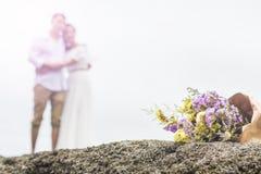 Ramalhete da flor com pares Fotos de Stock