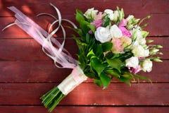 Ramalhete da flor da cerimônia de casamento Imagem de Stock