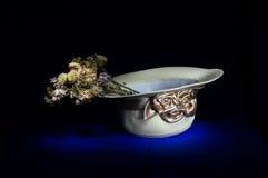 Ramalhete da flor de palha do chapéu na vida ainda Fotos de Stock