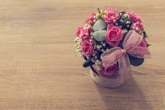 Ramalhete da flor do estilo do vintage imagens de stock royalty free