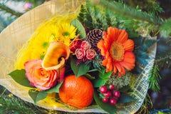 Ramalhete da flor do Natal Imagem de Stock