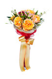 Ramalhete da flor isolado no fundo branco Imagens de Stock