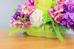 Ramalhete da orquídea de Vanda Imagem de Stock