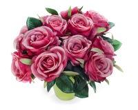 Ramalhete da peça central do arranjo das rosas Imagem de Stock