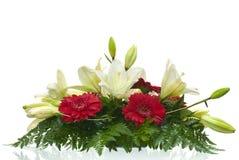 Ramalhete da tabela das flores Fotos de Stock