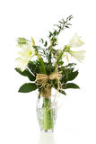 Ramalhete das flores brancas Foto de Stock