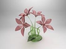 Ramalhete das flores coloridas de vidro Fotos de Stock Royalty Free