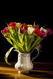 Ramalhete das flores no vaso Fotos de Stock