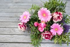 Ramalhete das flores para o dia de mães Fotos de Stock