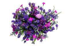 Ramalhete das flores selvagens fotografia de stock royalty free