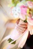 Ramalhete das noivas fotografia de stock royalty free