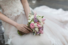 Ramalhete das noivas Fotografia de Stock