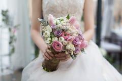 Ramalhete das noivas Fotos de Stock Royalty Free