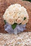 Ramalhete das rosas da noiva imagem de stock royalty free