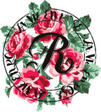 Ramalhete das rosas do vintage Fotografia de Stock Royalty Free