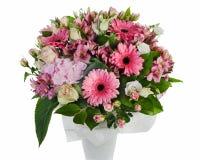 Ramalhete das rosas, dos lírios e das orquídeas Fotografia de Stock Royalty Free
