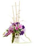 Ramalhete das rosas, dos lírios e das orquídeas Imagem de Stock Royalty Free