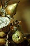 Ramalhete de anéis de casamento fotografia de stock