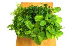 Ramalhete de ervas frescas Foto de Stock Royalty Free