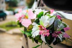 Ramalhete de flores bonitas para um casamento Imagens de Stock