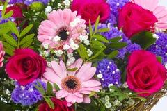 Ramalhete de flores coloridas Imagem de Stock Royalty Free