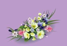 Ramalhete de flores da mola Fotografia de Stock Royalty Free