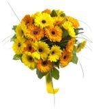 Ramalhete de flores do gerbera Foto de Stock