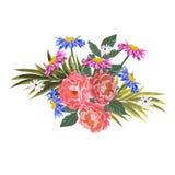 ramalhete de flores do jardim Imagem de Stock Royalty Free