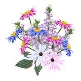 ramalhete de flores do jardim Imagens de Stock