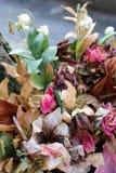 Ramalhete de flores secadas Fotografia de Stock