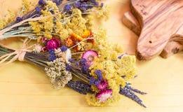 Ramalhete de flores secadas Imagem de Stock