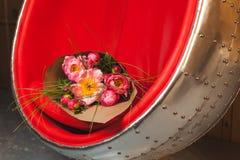 Ramalhete de peonies cor-de-rosa Imagem de Stock