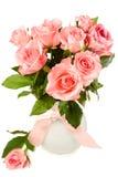 Ramalhete de rosas cor-de-rosa Imagem de Stock
