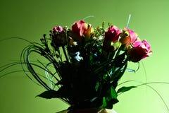 Ramalhete de rosas cor-de-rosa. Imagem de Stock Royalty Free
