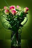 Ramalhete de rosas cor-de-rosa. Fotografia de Stock