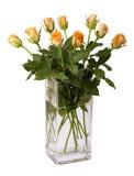 Ramalhete de rosas frescas imagem de stock royalty free