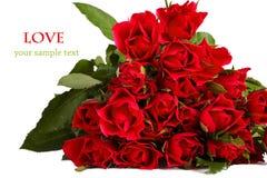 Ramalhete de rosas vermelhas Imagem de Stock