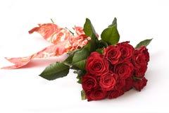 Ramalhete de rosas vermelhas Imagem de Stock Royalty Free